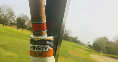 Golf Cart Cigar Holder