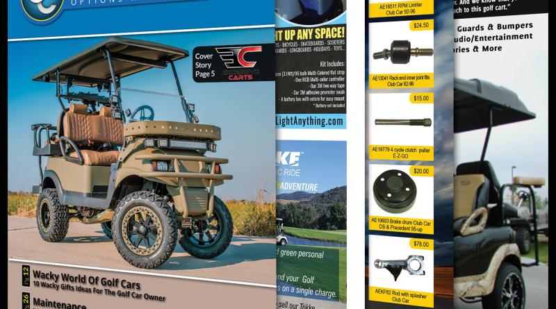 Golf Car Options November 2017