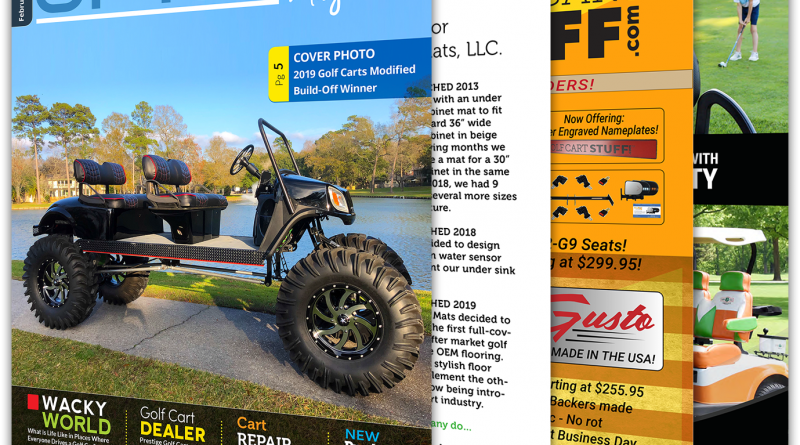 Golf Car Options February 2020