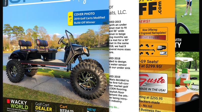 Golf Car Options February 2020