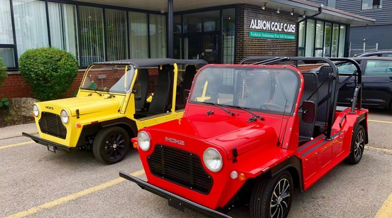 Albion Golf Cars Moke