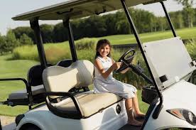 Children and Golf Carts