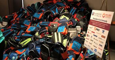 Columbia Donates School Supplies