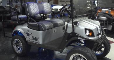 Dak Prescott Golf Cart