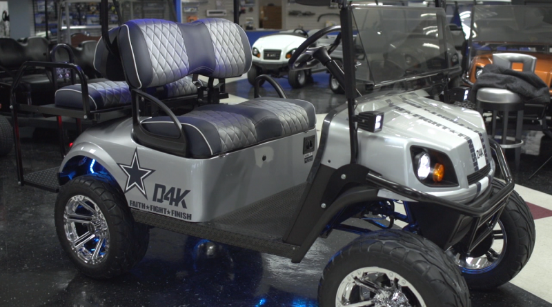 Dak Prescott Golf Cart
