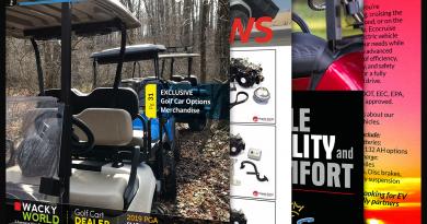 Golf Car Options February 2019