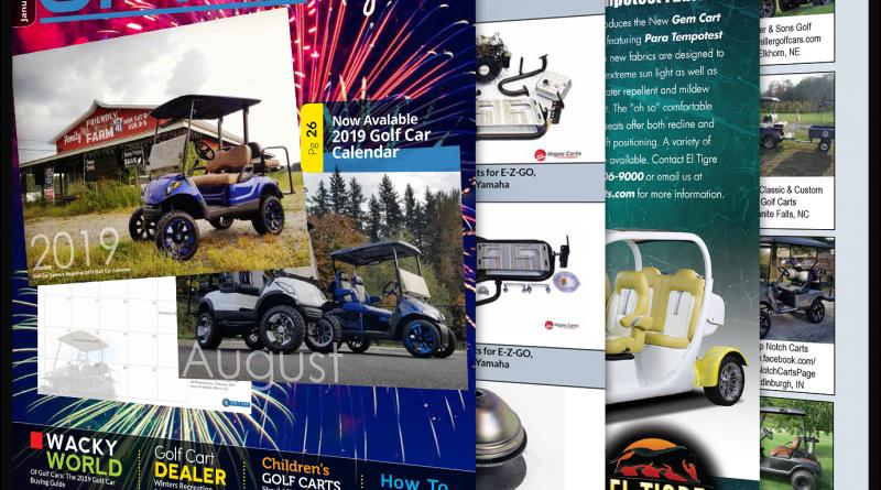 Golf Car Options January 2019