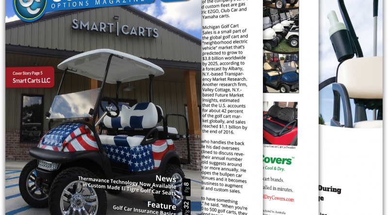 Golf Car Options June 2018