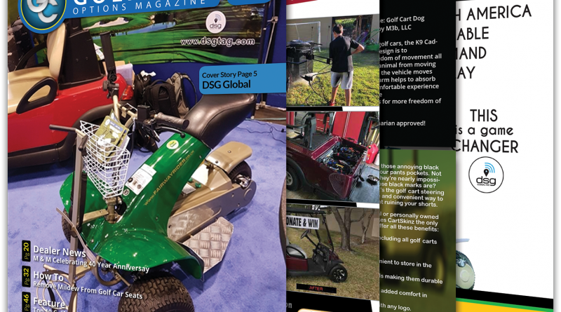 Golf Car Options May 2018