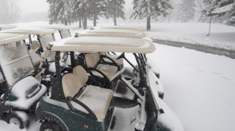 Golf Car Winter Storage