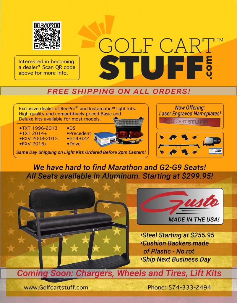 Golf Cart Stuff