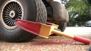 Golf Cart Wheel Lock