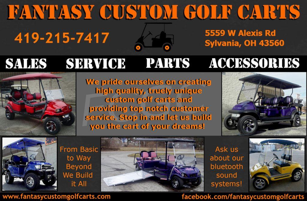 Fantasy Custom Golf Carts