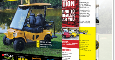 Golf Car Options June 2020