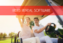 Rides Rental Software