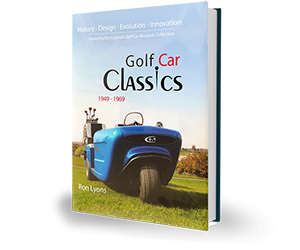 Golf Car Classics Book