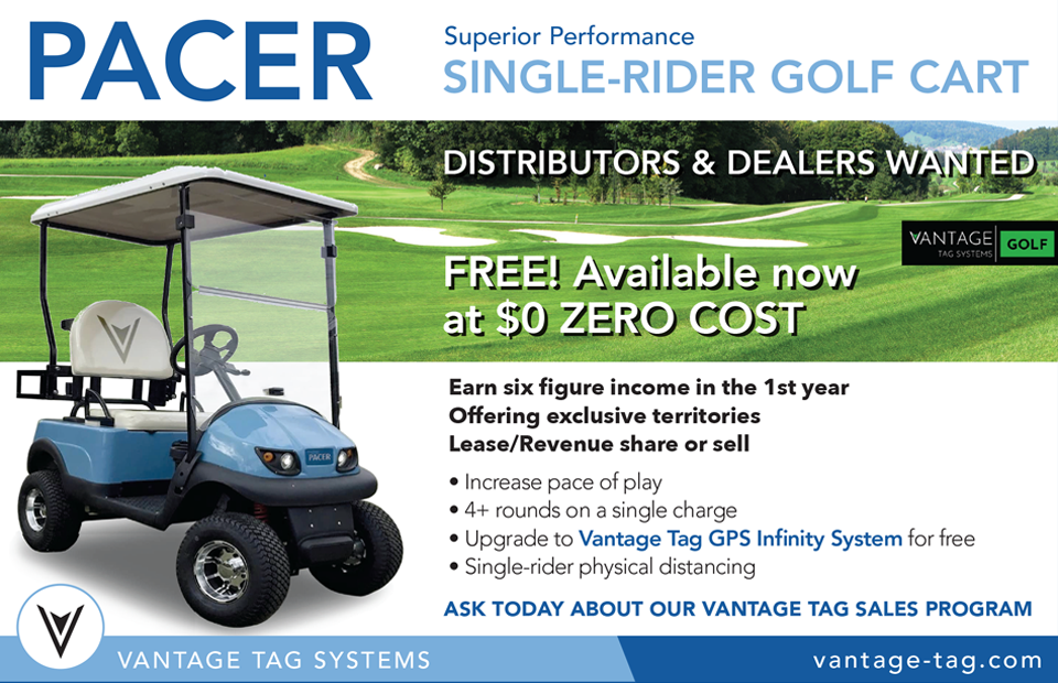 Golf Car Options | DSG Global's New Single Rider Golf Cart, THE ...