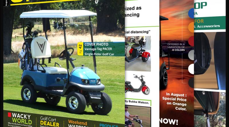 Golf Car Options August 2020
