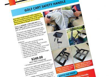 Golf Cart Safety Handle