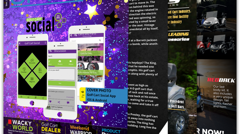 Now Available – Golf Cart Social App